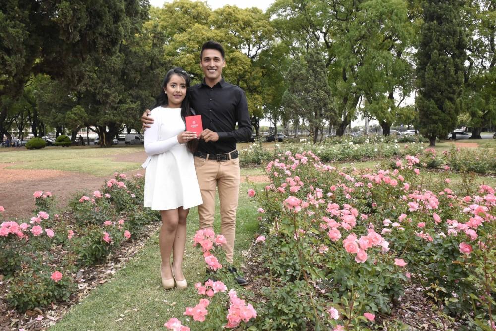 Casamiento en el Rosedal