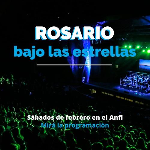 Rosario bajo las estrellas