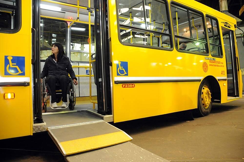 Resultado de imagen para Franquicia de transporte para personas con discapacidad