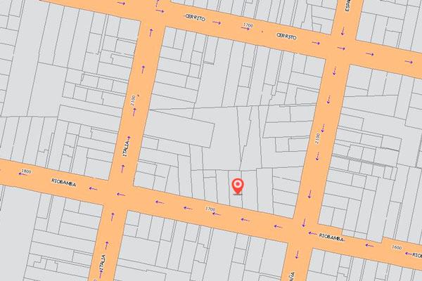 ubicación de Salon de fiestas - Riobamba 17388