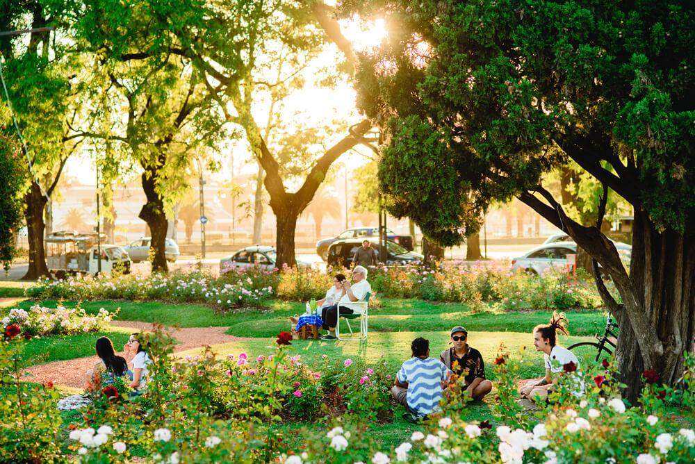 Parques, Plazas Y Balnearios