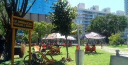Los domingos en el marco de Calle Recreativa, en la Ciudad de los Niños se realiza el Descanso al Paso