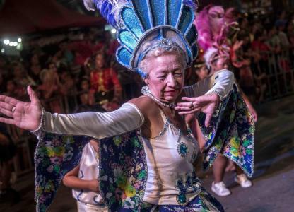 Carnavales en el Scalabrini Ortiz. Cuarto día