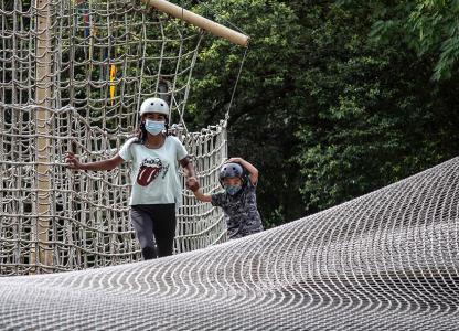 Vacaciones en El Jardín de los Niños