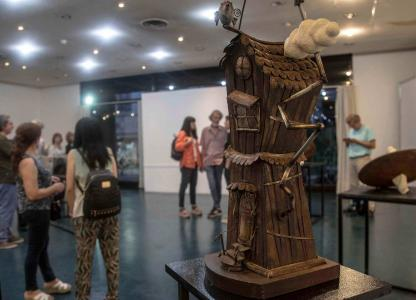 Exposición de esculturas Nicola Sacco