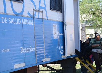 Móvil de Salud Animal en el Sudoeste