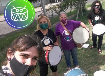 Proyecto Di Verso. Mujeres y tambor
