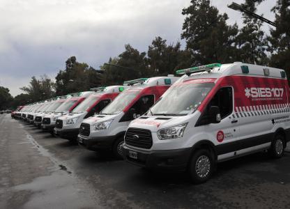 Nuevas ambulancias 2015