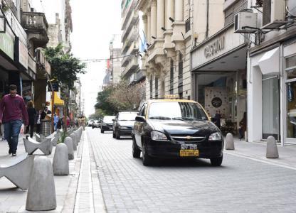 Área Histórica. Rehabilitación de Calle Sarmiento