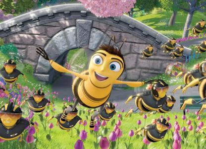 Proyección de Bee Movie, la historia de una abeja