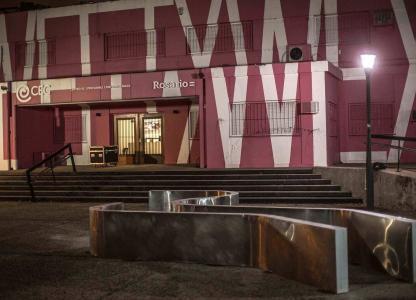 Fachada del Centro de Expresiones Contemporáneas