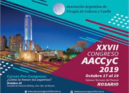 27° Congreso de la Asociación Argentina de Cirugía de Cabeza y Cuello (AACCyC)