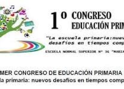 1° Congreso Educación Primaria
