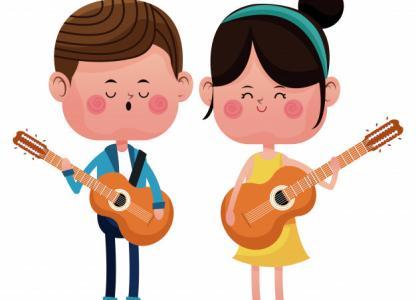 Taller de guitarra para niños y niñas