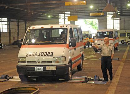 Centro de Inspección Técnica del Automotor (CITA) de la Dir. Gral. de Fiscalización del Transporte, Montevideo 2849