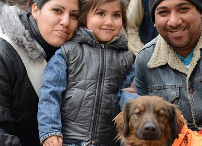 Móvil de Salud Animal en el Centro de Salud Maiztegui