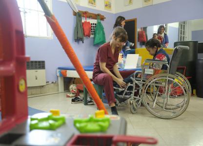 servicios de salud para personas con discapacidad