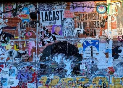 Muestras virtuales en Casa del Artista Plástico. Arte urbana en Rosario.