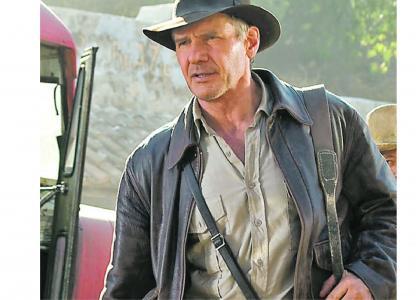 Proyección de Indiana Jones y el reino de la calavera de cristal