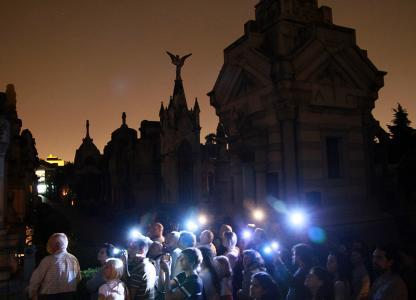 recorrido nocturno por el Salvador