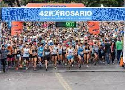 XIX Maratón Internacional de bandera 42k Rosario