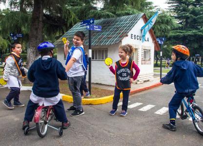 Actividades en el Parque Infantil de Educación Vial