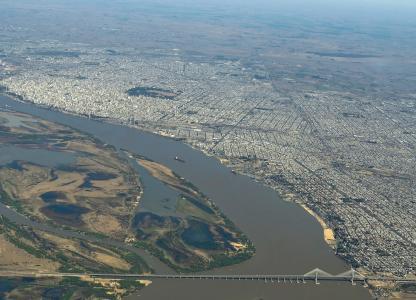 Rosario vista aerea
