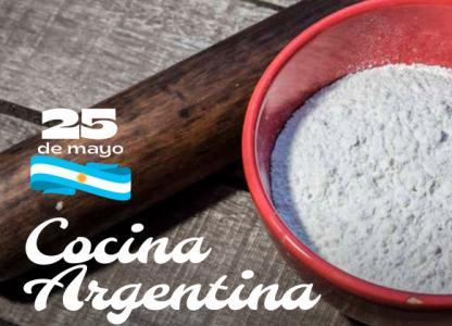Recetario con Cocina Argentina
