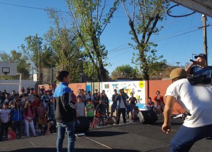 FreeStyle en Casa de Cultura Barrio Alvear