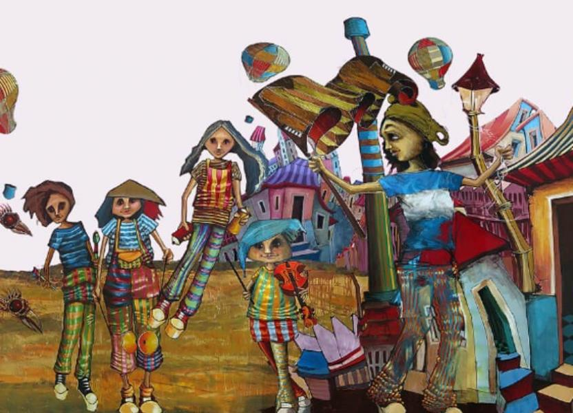 Pintura de Jorge Molina