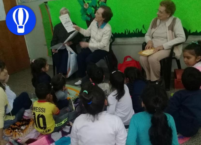 taller de lectura de adultos mayores