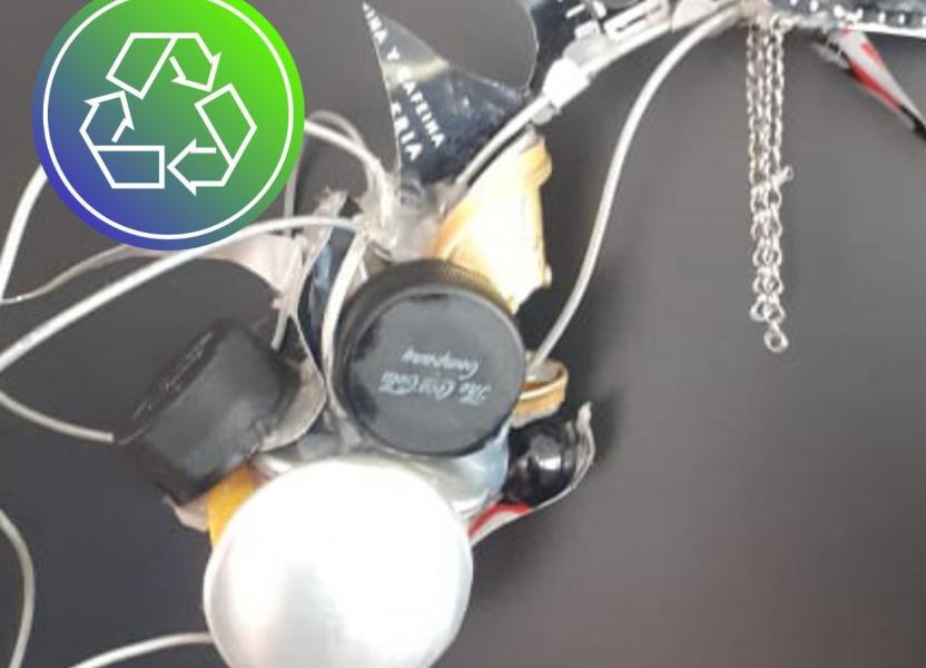 Taller de objetos reciclados