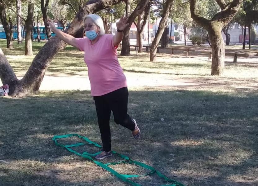 Actividades para adultos mayores en CAIAM