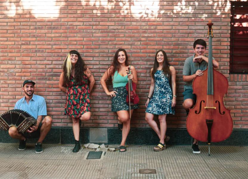 Orquesta de Carlos Quilici. Grupo El Rebusque.