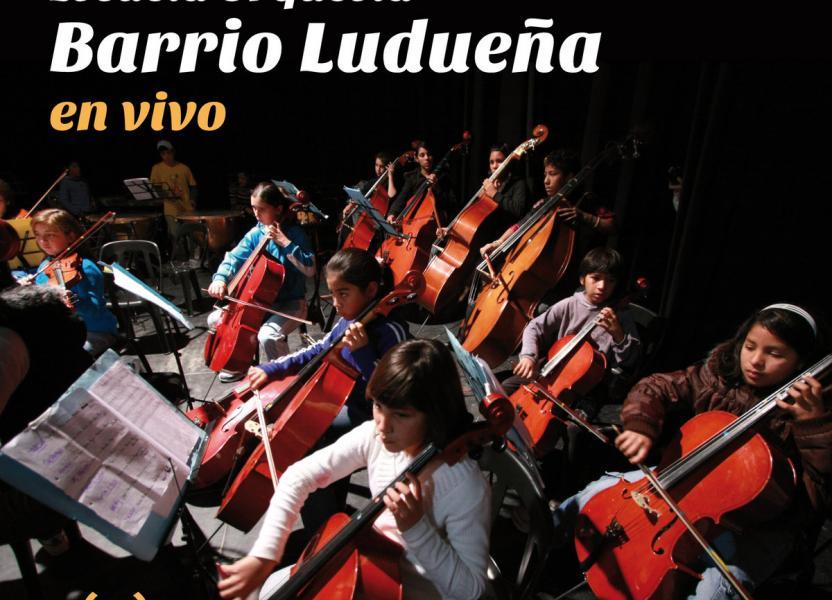 Portada del álbum de la Escuela Orquesta Barrio Ludueña de Rosario