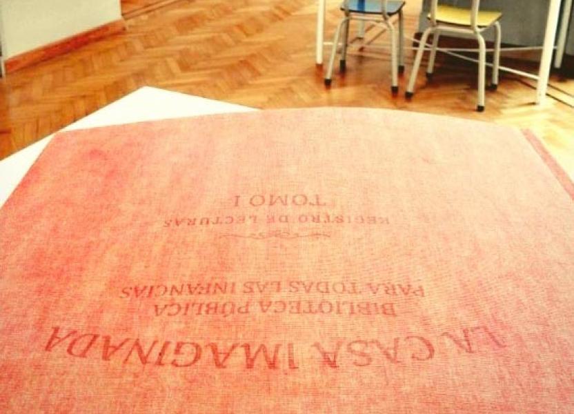 Foto de La Casa Imaginada en la Biblioteca Argentina