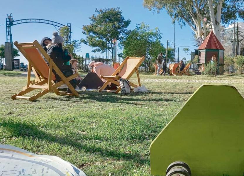 picnic en la Ciudad de las Niñas y los Niños