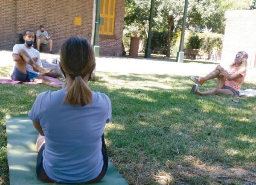 yoga en familia