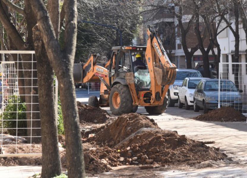 Remodelación de calle Maipú