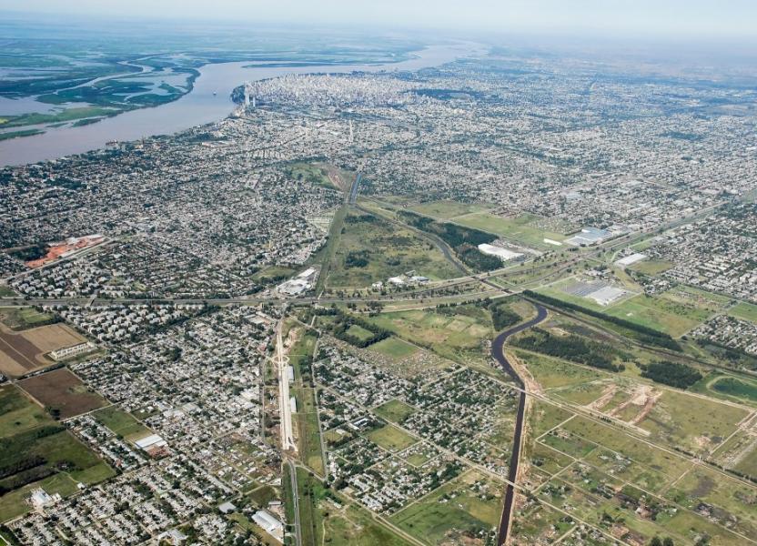 Vista aérea de Rosario