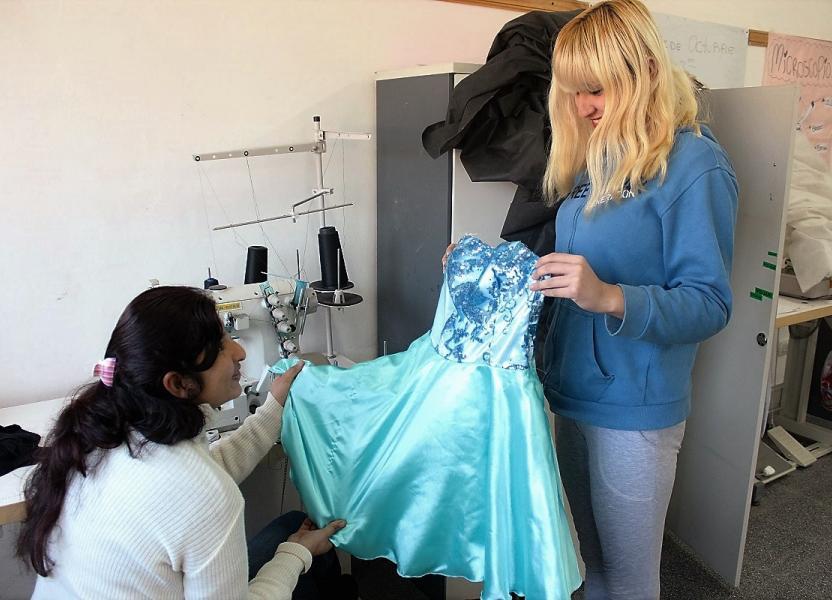 taller de costura