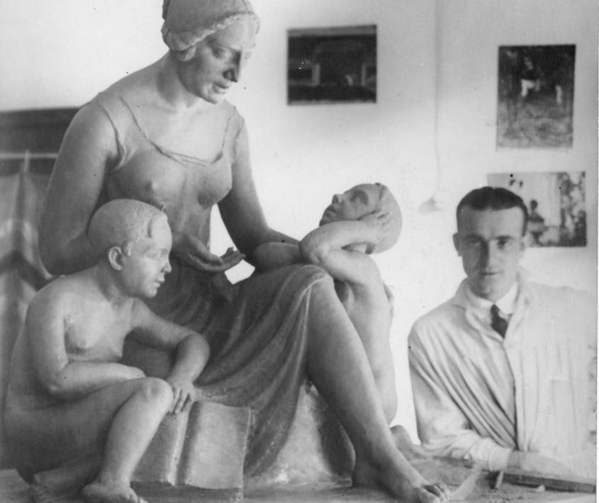 Lucio Fontana. Los orígenes