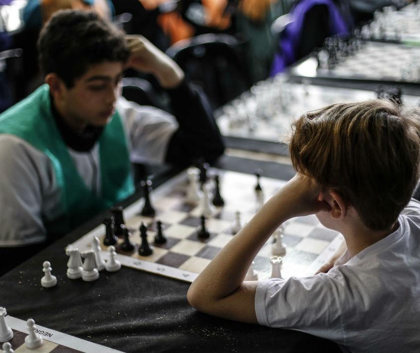 Taller de ajedrez en Barrio Moderno
