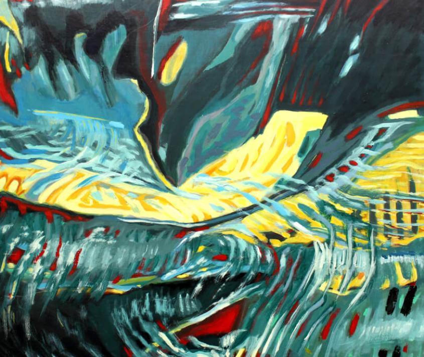 Patmos. Pinturas de Norberto Moretti