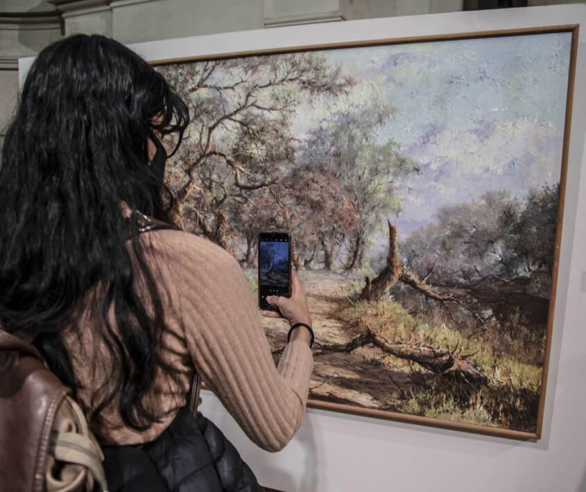 Exposición Pintó Humedal