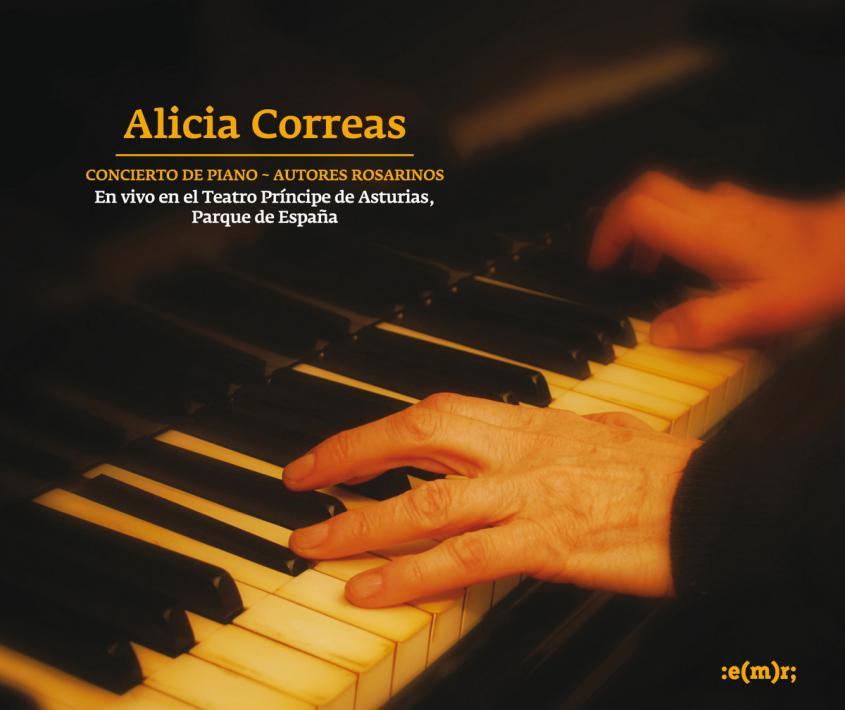 """Alicia Correas –""""Autores de piano"""" (EMR, 2013)"""