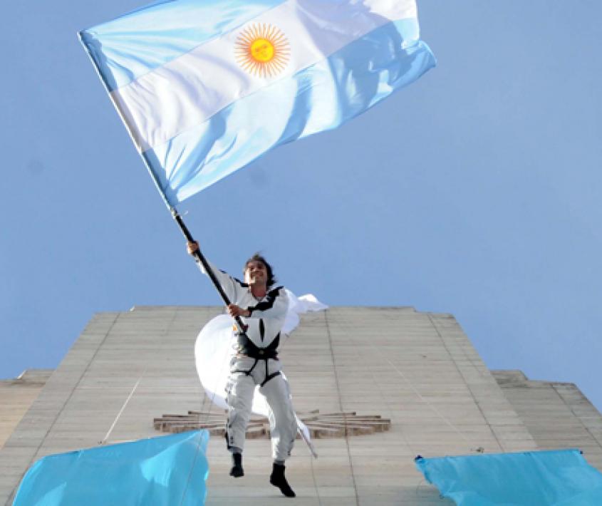 Festividades por el Día de la Bandera Nacional