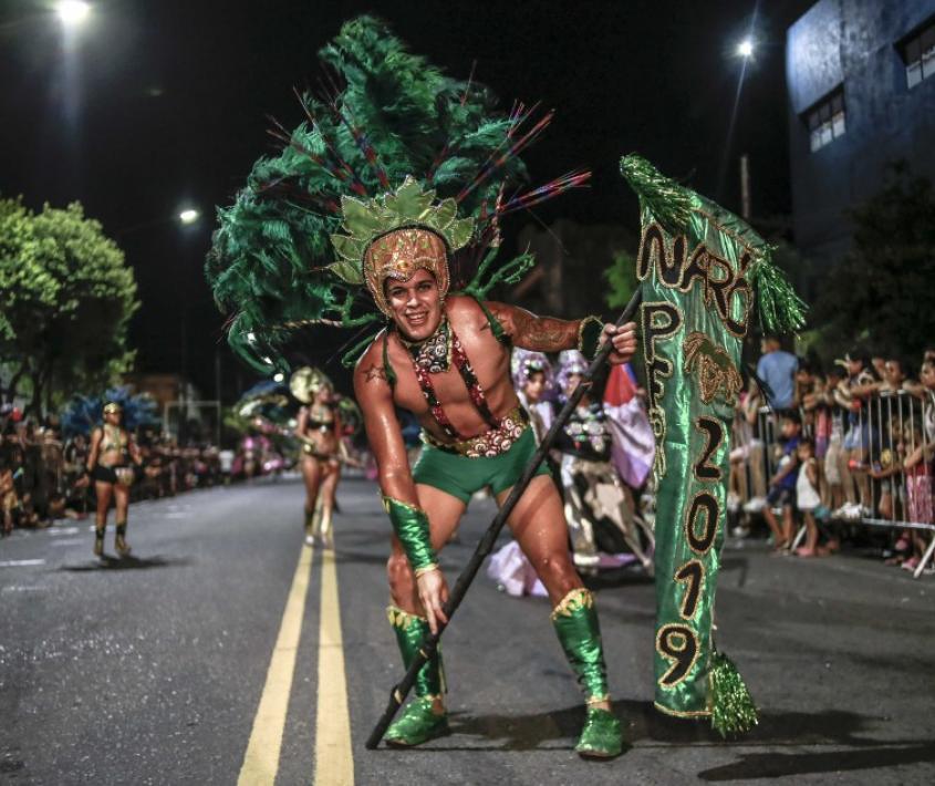 Carnavales en el Distrito Sur