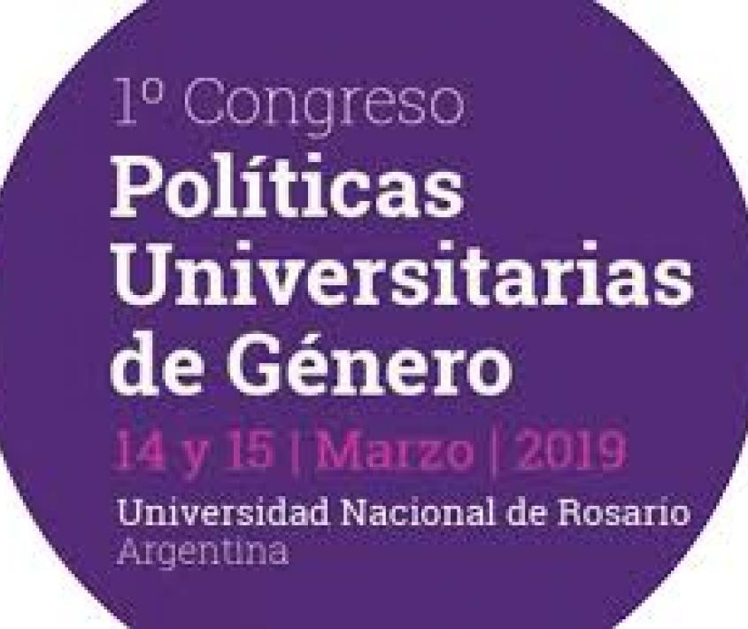 1er Congreso de Políticas Universitarias de Género