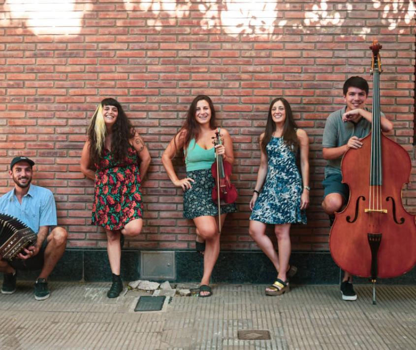 Orquesta de Carlos Quilici. Grupo El Rebusque